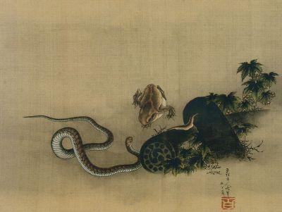 Hokusai0001kaeru